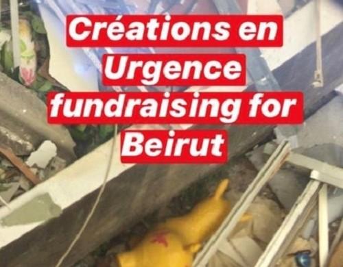 Crowdfunding au profit des personnes en détresse à Beyrouth